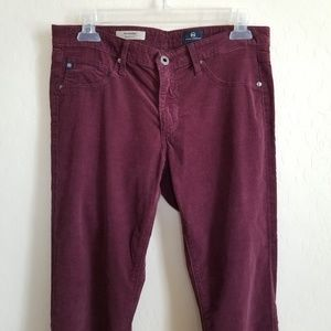 AG The Legging Super Skinny corduroy pants 29R